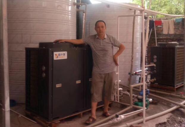 10匹循环式空气能热泵热水机组